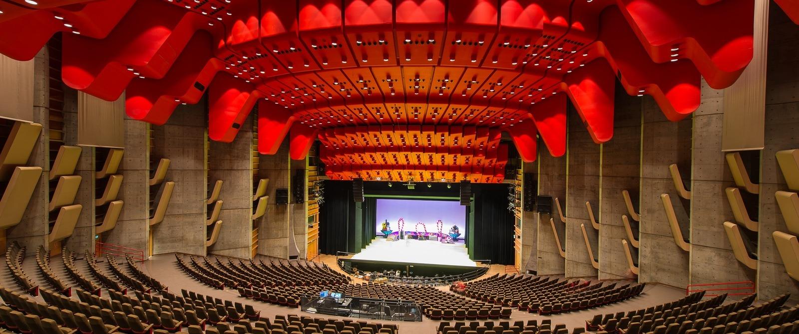 Griegsalen i Grieghallen.
