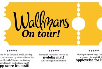 Wallmans On Tour - Julebordshow -