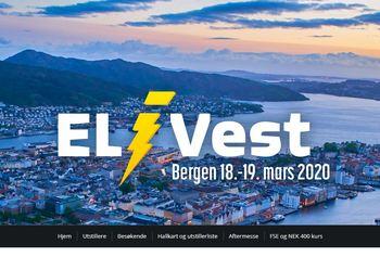 Velkommen til EL i Vest 2020