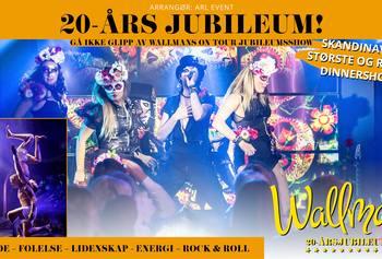 Avlyst Wallmans On Tour - Julebordshow