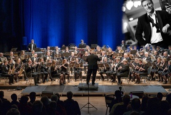 Strusshamn Musikkforening med Tor Endresen in concert