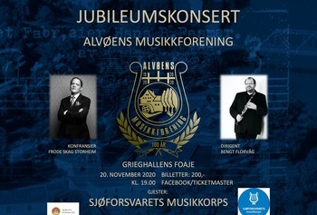 Alvøens musikkforening - Jubileumskonsert