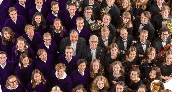 Konsert med St. Olaf Choir og St. Olaf Orchestra