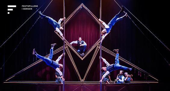 Festspillene i Bergen: Hotel m/Cirque Éloize