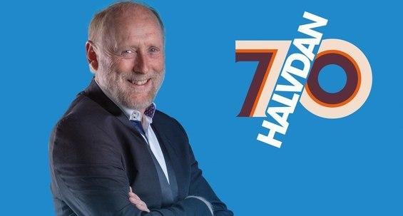 Halvdan Sivertsen 70 år